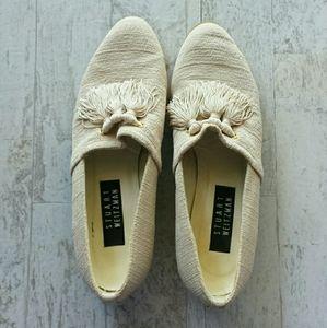 Stuart Weitzman Tassel Loafers Size 8